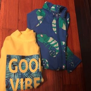 Brand new without tags Lands End boy swim wear